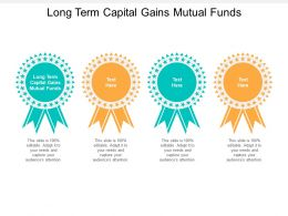 Long Term Capital Gains Mutual Funds Ppt Powerpoint Infographics Guidelines Cpb