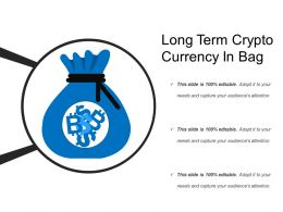 Long Term Crypto Currency In Bag