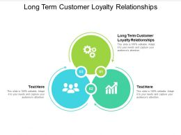 Long Term Customer Loyalty Relationships Ppt Powerpoint Presentation Summary Objects Cpb