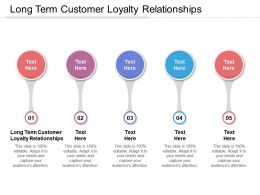 Long Term Customer Loyalty Relationships Ppt Powerpoint Professional Cpb