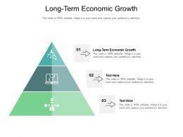 Long Term Economic Growth Ppt Powerpoint Presentation Show Aids Cpb