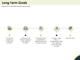 Long Term Goals Fortune Ppt Powerpoint Presentation Rules