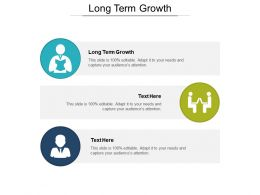 Long Term Growth Ppt Powerpoint Presentation Gallery Graphics Example Cpb
