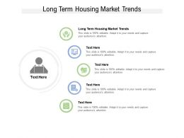 Long Term Housing Market Trends Ppt Powerpoint Presentation Pictures Slide Portrait Cpb
