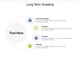 Long Term Investing Ppt Powerpoint Presentation File Introduction Cpb