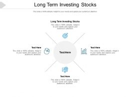 Long Term Investing Stocks Ppt Powerpoint Presentation Shapes Cpb