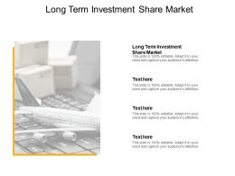 Long Term Investment Share Market Ppt Powerpoint Presentation Icon Portfolio Cpb