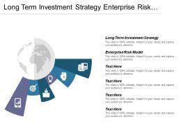 Long Term Investment Strategy Enterprise Risk Model Pricing Strategies Cpb