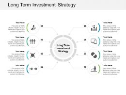 Long Term Investment Strategy Ppt Powerpoint Presentation Pictures Icons Cpb