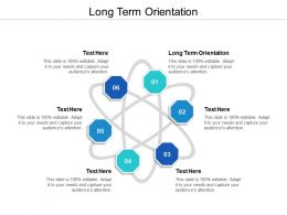 Long Term Orientation Ppt Powerpoint Presentation Gallery Example Topics Cpb