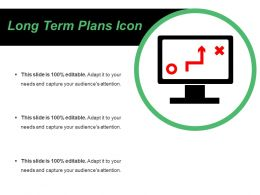 Long Term Plans Icons