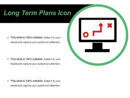 Long Term Plans Icons