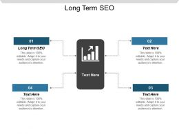 Long Term SEO Ppt Powerpoint Presentation Gallery Example Introduction Cpb