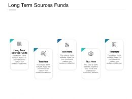 Long Term Sources Funds Ppt Powerpoint Presentation Demonstration Cpb