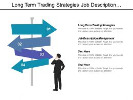 Long Term Trading Strategies Job Description Management Performance Metrics Cpb