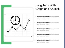 Long Term With Graph And A Clock