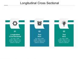 Longitudinal Cross Sectional Ppt Powerpoint Presentation Inspiration Themes Cpb