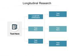 Longitudinal Research Ppt Powerpoint Presentation Layouts Maker Cpb