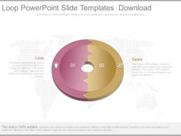 Loop Powerpoint Slide Templates Download