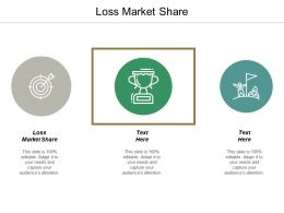Loss Market Share Ppt Powerpoint Presentation Portfolio Ideas Cpb