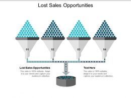 Lost Sales Opportunities Ppt Powerpoint Presentation Gallery Vector Cpb