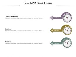 Low Apr Bank Loans Ppt Powerpoint Presentation Ideas Example Introduction Cpb