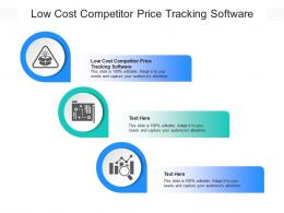 Low Cost Competitor Price Tracking Software Ppt Powerpoint Presentation File Graphics Cpb