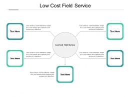 Low Cost Field Service Ppt Powerpoint Presentation Pictures Design Templates Cpb