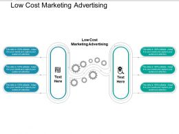 Low Cost Marketing Advertising Ppt Powerpoint Presentation Styles Guide Cpb