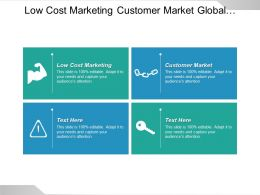 Low Cost Marketing Customer Market Global Marketing Promotions Cpb