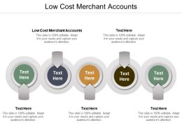 Low Cost Merchant Accounts Ppt Powerpoint Presentation Ideas Infographic Template Cpb