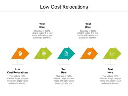 Low Cost Relocations Ppt Powerpoint Presentation Ideas Pictures Cpb