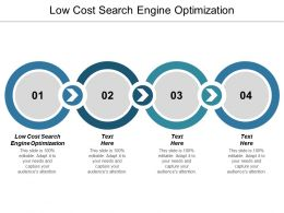 Low Cost Search Engine Optimization Ppt Powerpoint Presentation Pictures Clipart Cpb