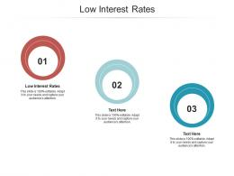 Low Interest Rates Ppt Powerpoint Presentation Layouts Graphics Design Cpb