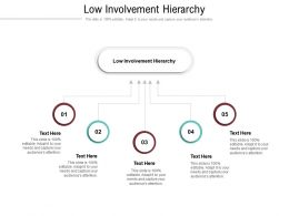 Low Involvement Hierarchy Ppt Powerpoint Presentation Icon File Formats Cpb
