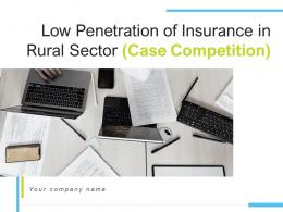 Low Penetration Of Insurance In Rural Sector Case Competition Complete Deck