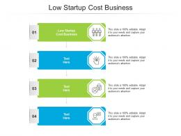 Low Startup Cost Business Ppt Powerpoint Presentation Ideas Graphic Images Cpb