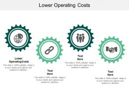 Lower Operating Costs Ppt Powerpoint Presentation Infographics Elements Cpb