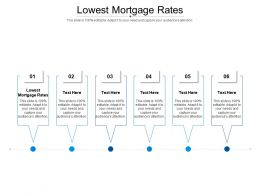 Lowest Mortgage Rates Ppt Powerpoint Presentation Model Background Designs Cpb