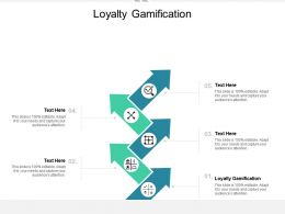 Loyalty Gamification Ppt Powerpoint Presentation Layouts Graphics Tutorials Cpb