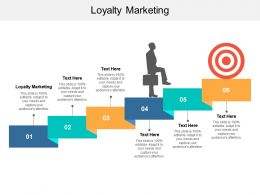 Loyalty Marketing Ppt Powerpoint Presentation Show Graphic Tips Cpb