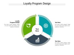 Loyalty Program Design Ppt Powerpoint Presentation Gallery Shapes Cpb