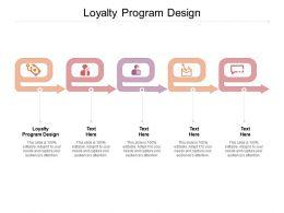 Loyalty Program Design Ppt Powerpoint Presentation Portfolio Layout Cpb