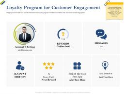 Loyalty Program For Customer Engagement Share Of Category Ppt Structure