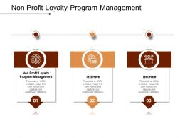 Loyalty Program Management Ppt Powerpoint Presentation Ideas Rules Cpb