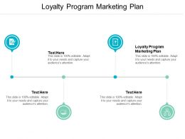 Loyalty Program Marketing Plan Ppt Powerpoint Presentation Gallery Master Slide Cpb
