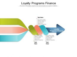 Loyalty Programs Finance Ppt Powerpoint Presentation Professional Icons Cpb
