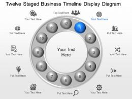 lq Twelve Staged Business Timeline Display Diagram Powerpoint Template