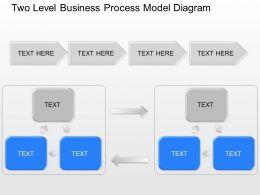 lr_two_level_business_process_model_diagram_powerpoint_template_Slide01