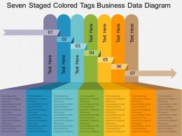 ls_seven_staged_colored_tags_business_data_diagram_flat_powerpoint_design_Slide01